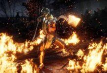 Scène de combat dans Mortal Kombat