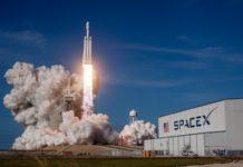 Le lancement d'une fusée par SpaceX