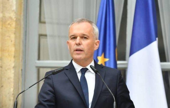 François de Rugy prononçant un discours en 2018