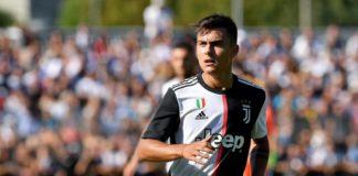 Paulo Dyballa lors d'un match avec la Juventus