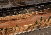 Une vue aérienne de la promenade des «ramblas-jardins» qui sera inaugurée ce vendredi 13 décembre 2019