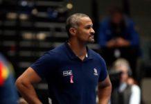Didier Dinart, le selectionneur de l'équipe de France de Handball.