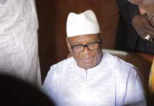 Ibrahim Boubacar Keita, le président malien depuis 2013.