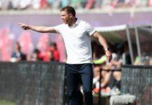 Le jeune entraîneur du RB Leipzig Julian Nagelsmann.